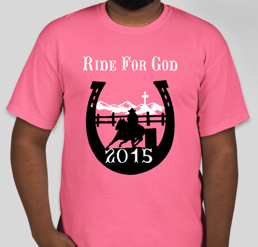ride for god benefit t shirt custom ink fundraising