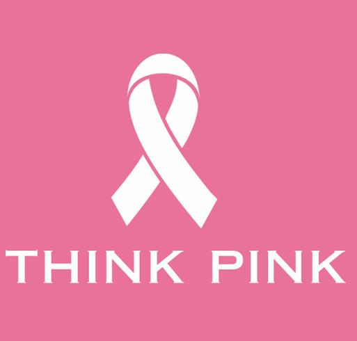 Medix Thinks Pink shirt design - zoomed