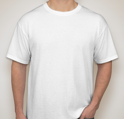 Gildan 50/50 T-shirt - White