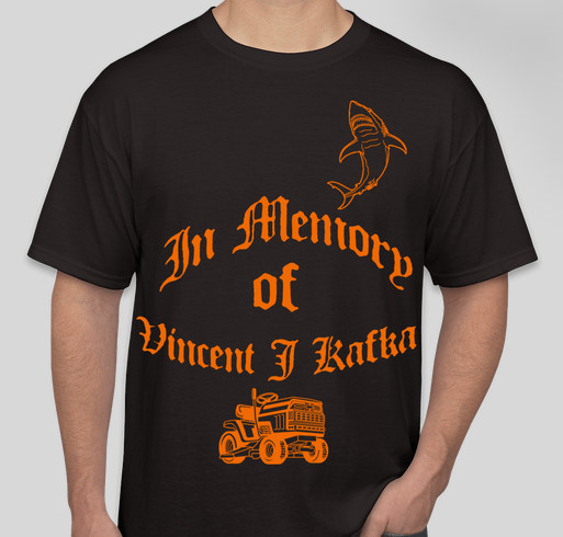 Vincent James Memorial Fundraiser - unisex shirt design - front