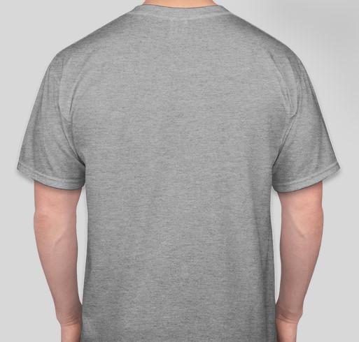 Keep Warm at JPBMA Fundraiser - unisex shirt design - back