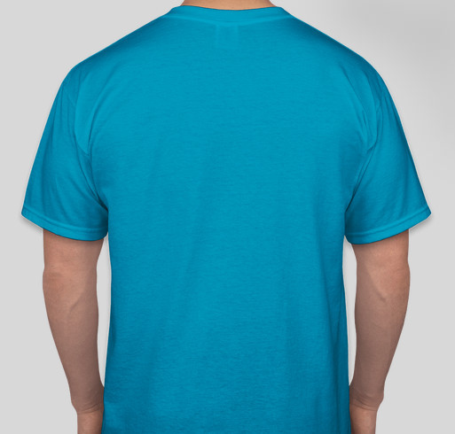 Lymphie Strong for Lymphedema Awareness Month Fundraiser - unisex shirt design - back