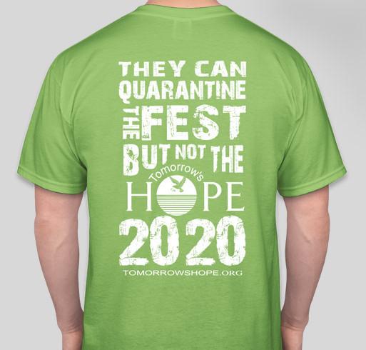 Tomorrow's Hope - MISSION ESSENTIAL - TShirt Fundraiser Fundraiser - unisex shirt design - back