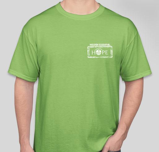 Tomorrow's Hope - MISSION ESSENTIAL - TShirt Fundraiser Fundraiser - unisex shirt design - front