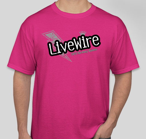 Buy a livewire t shirt and help raise money for youth for Shirts to raise money