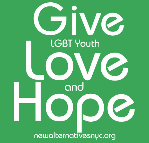 Please Help New York City's LGBT Youth!!!! shirt design - zoomed