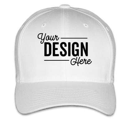 Yupoong Twill Flexfit Hat - White