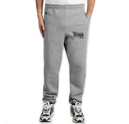 Russell Athletic Dri Power Closed Bottom Sweatpants - Oxford