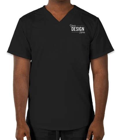 Cherokee Workwear Revolution One-Pocket Scrub Top - Black
