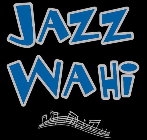 Jazz WaHi T-shirt Fundraising Extravaganza! shirt design - zoomed