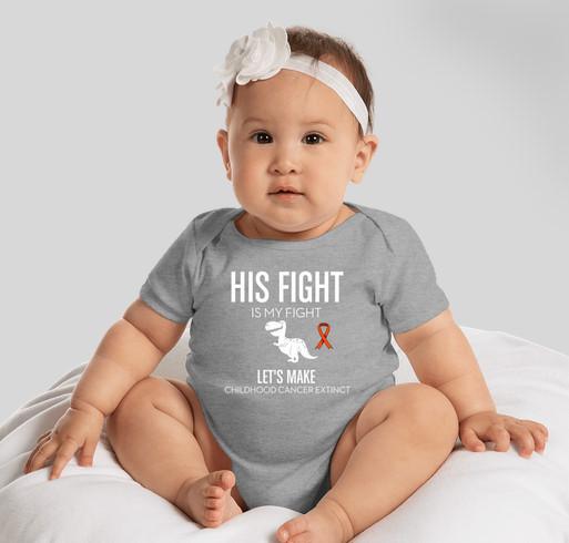 Jeremiah's Fight Fundraiser - unisex shirt design - front