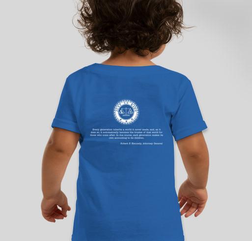 JUK Kids T-Shirt Fundraiser Fundraiser - unisex shirt design - back