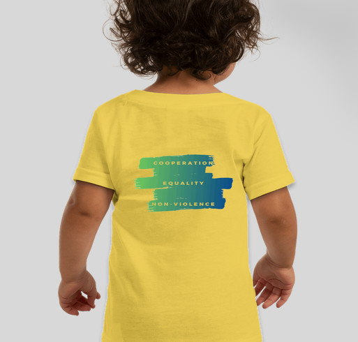 Just in time for summer: School for Friends T-shirts are here! Fundraiser - unisex shirt design - back