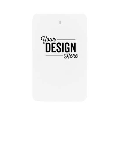 Full Color 3-in-1 Flip Power Bank - White