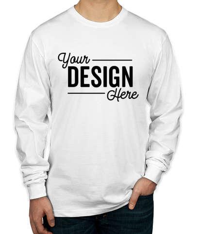 Canada - American Apparel Long Sleeve T-shirt - White