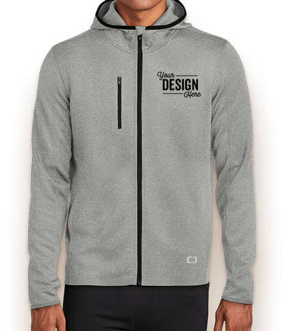 OGIO Endurance Stealth Zip Hoodie - Heather Grey