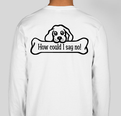 Dylan's Mitzvah Project to help Oldies But Goodies Cocker Spaniel Rescue Fundraiser - unisex shirt design - back