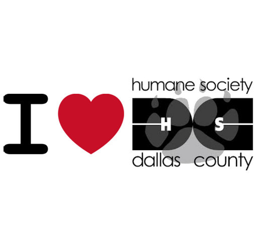 Humane Society Dallas County shirt design - zoomed