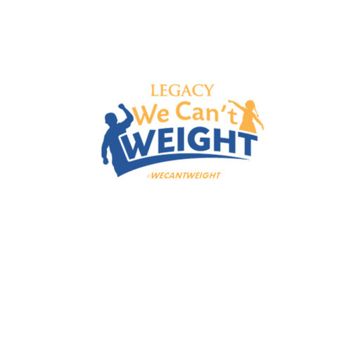 WE CAN'T WEIGHT™ To Stay Fit shirt design - zoomed