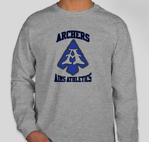 AIMS PE Wear Fundraiser - unisex shirt design - front