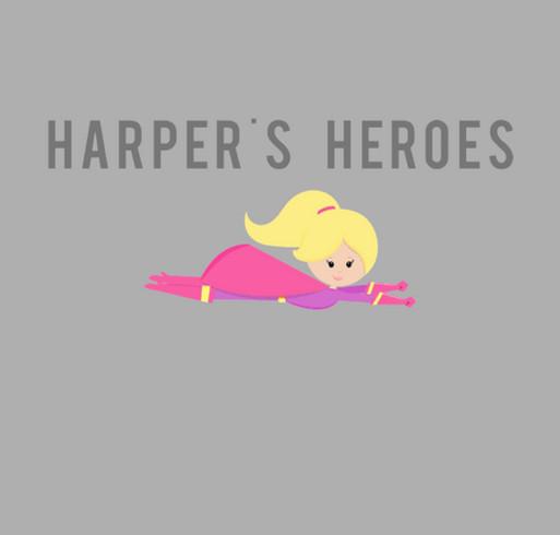 Help Harper Hear shirt design - zoomed