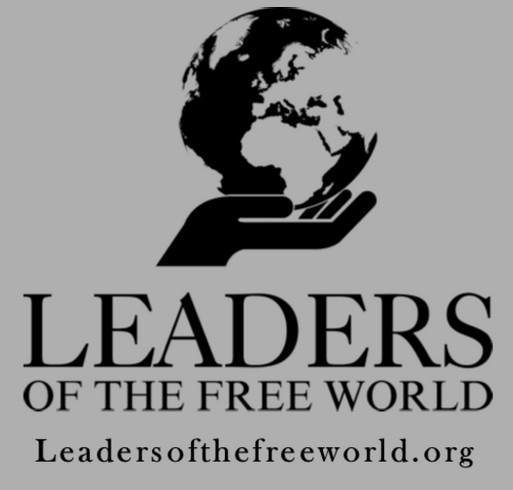 Leaders of the Free World shirt design - zoomed
