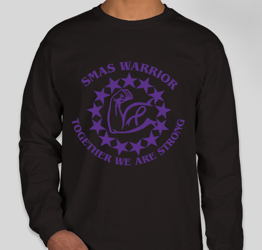Together We are Stronger - Superior Mesenteric Artery Syndrome Fundraiser - unisex shirt design - front