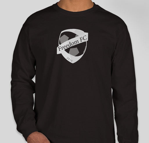 Join the Freedom FC team and help share our goal: One Vision, One Ball, One World. Fundraiser - unisex shirt design - front