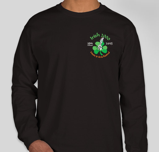 Irish 2000 Music & Arts Festival Fundraiser Fundraiser - unisex shirt design - front