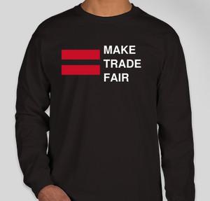 fair trade custom t shirts