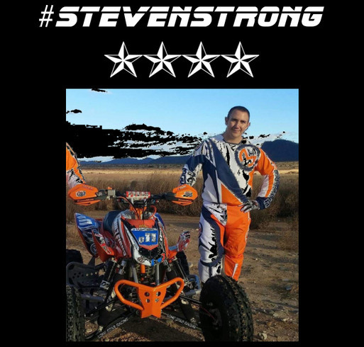 #STEVENSTRONG shirt design - zoomed