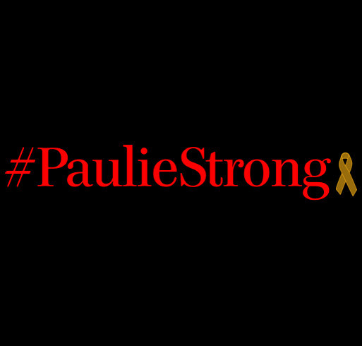 #PaulieStrong Paul Ulysses Jimenez Vs. Rhabdomyosarcoma shirt design - zoomed