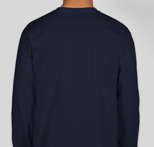 Omaha Virtual School Fundraiser - unisex shirt design - back