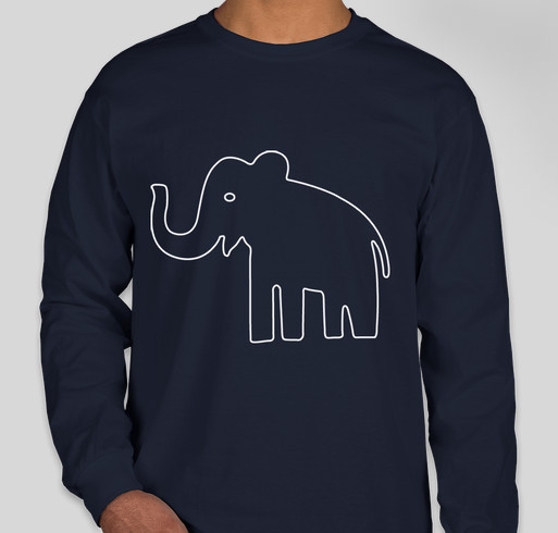 647248640 Save elephants tee for DSWT Fundraiser - unisex shirt design - front