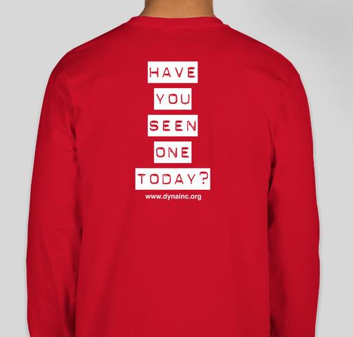DYNA's Dysautonomia Awareness Month Shirt Fundraiser Fundraiser - unisex shirt design - back