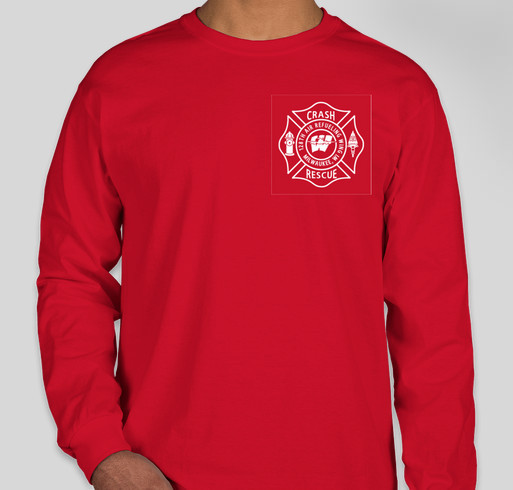 128th Fire Department Red Shirt Friday Long Sleeve Custom Ink