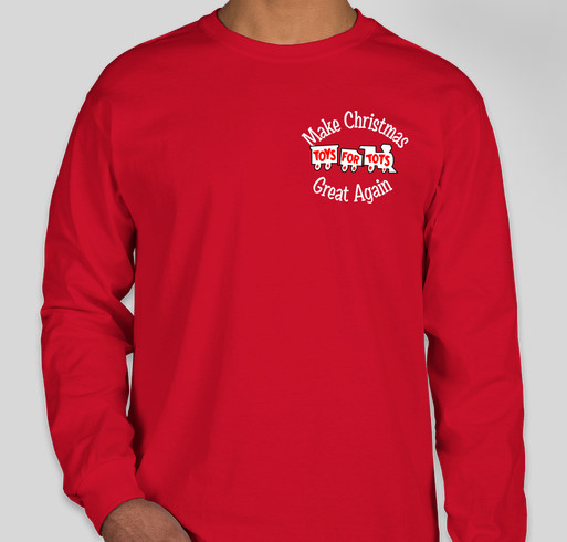 Toys For Tots Merchandise : T shirt fundraising booster shirts custom ink