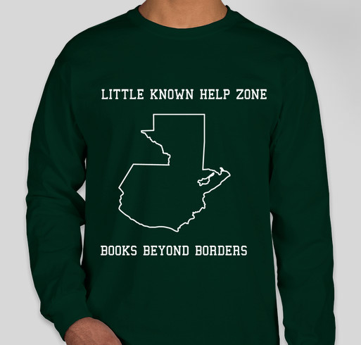 Little Known Help Zone- Books Beyond Borders- Send a Child to School Fundraiser - unisex shirt design - front