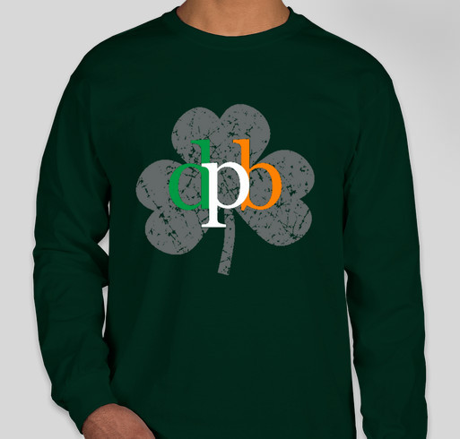 City of Dunedin Pipe Band St Patrick's Day T-Shirts Fundraiser - unisex shirt design - front