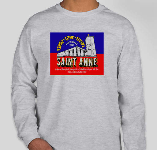 St. Gabriel/St. Anne Haiti Earthquake Relief Fundraiser - unisex shirt design - front