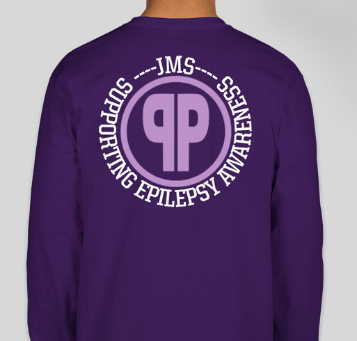 The Purple Project Fundraiser - unisex shirt design - back