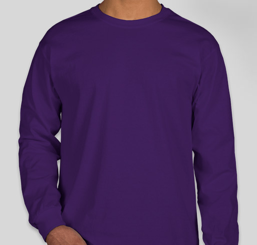 The Purple Project Fundraiser - unisex shirt design - front