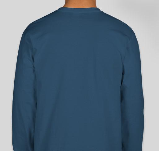 Helping Hounds Fall Apparel Fundraiser - unisex shirt design - back