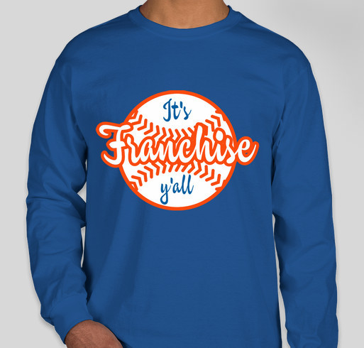 d2d2f314 Franchise 8U Blue Fundrasier Fundraiser - unisex shirt design - front