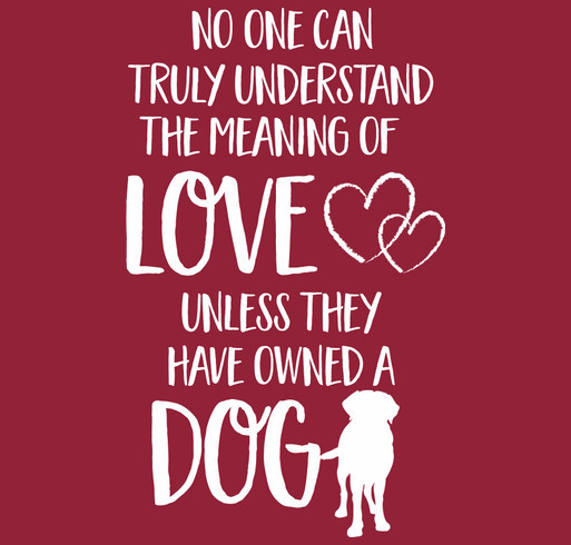 A Dogs Love <3 shirt design - zoomed