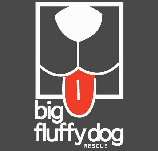 Big Fluffy Dog Rescue Long Sleeve and Baseball T-Shirts shirt design - zoomed