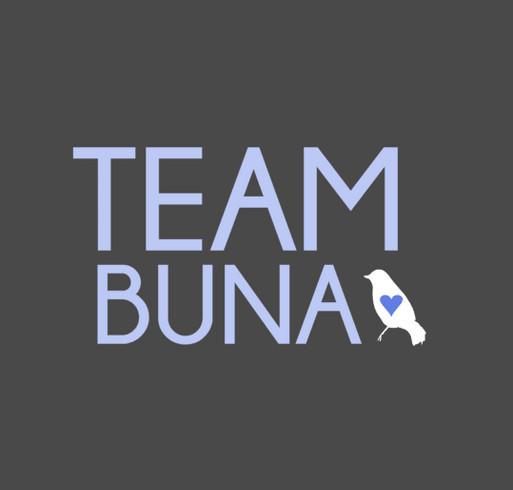 TEAM BUNA STUFF shirt design - zoomed