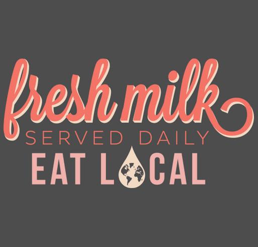 Fresh Milk Booster shirt design - zoomed