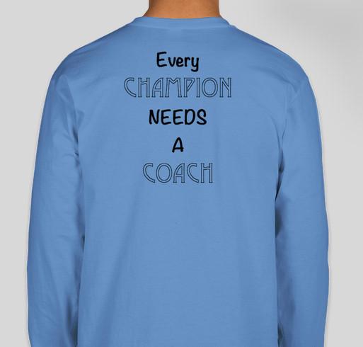 Real Men Raise CHAMPIONS Campaign Fundraiser - unisex shirt design - back