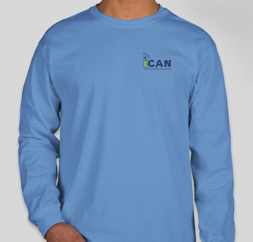 7528394106b3a iCAN Research Holiday Sale Fundraiser - unisex shirt design - front
